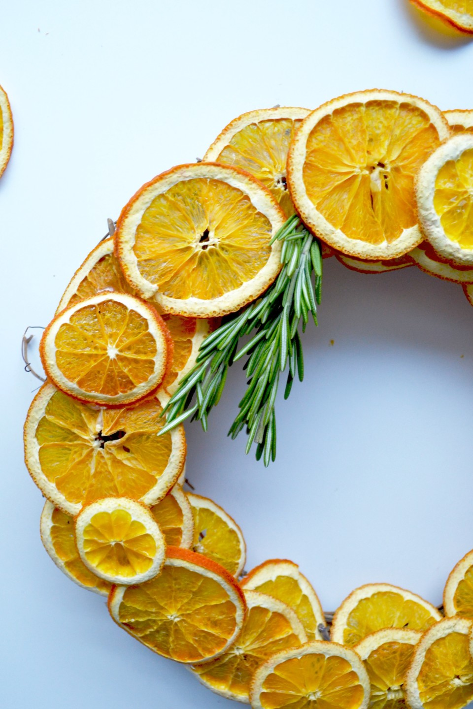 twineandtable finished citrus wreath