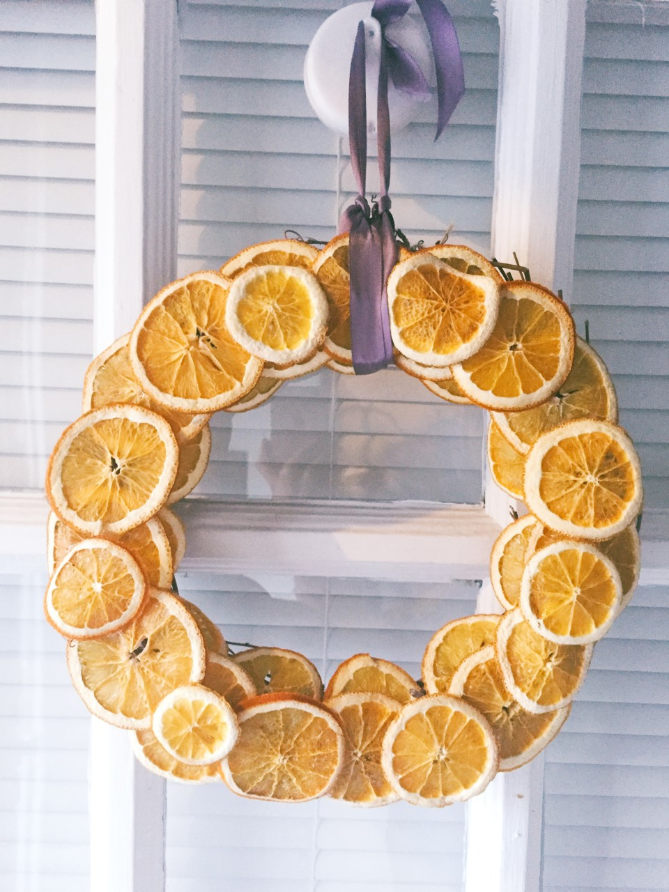 twine and table citrus wreath ribbon