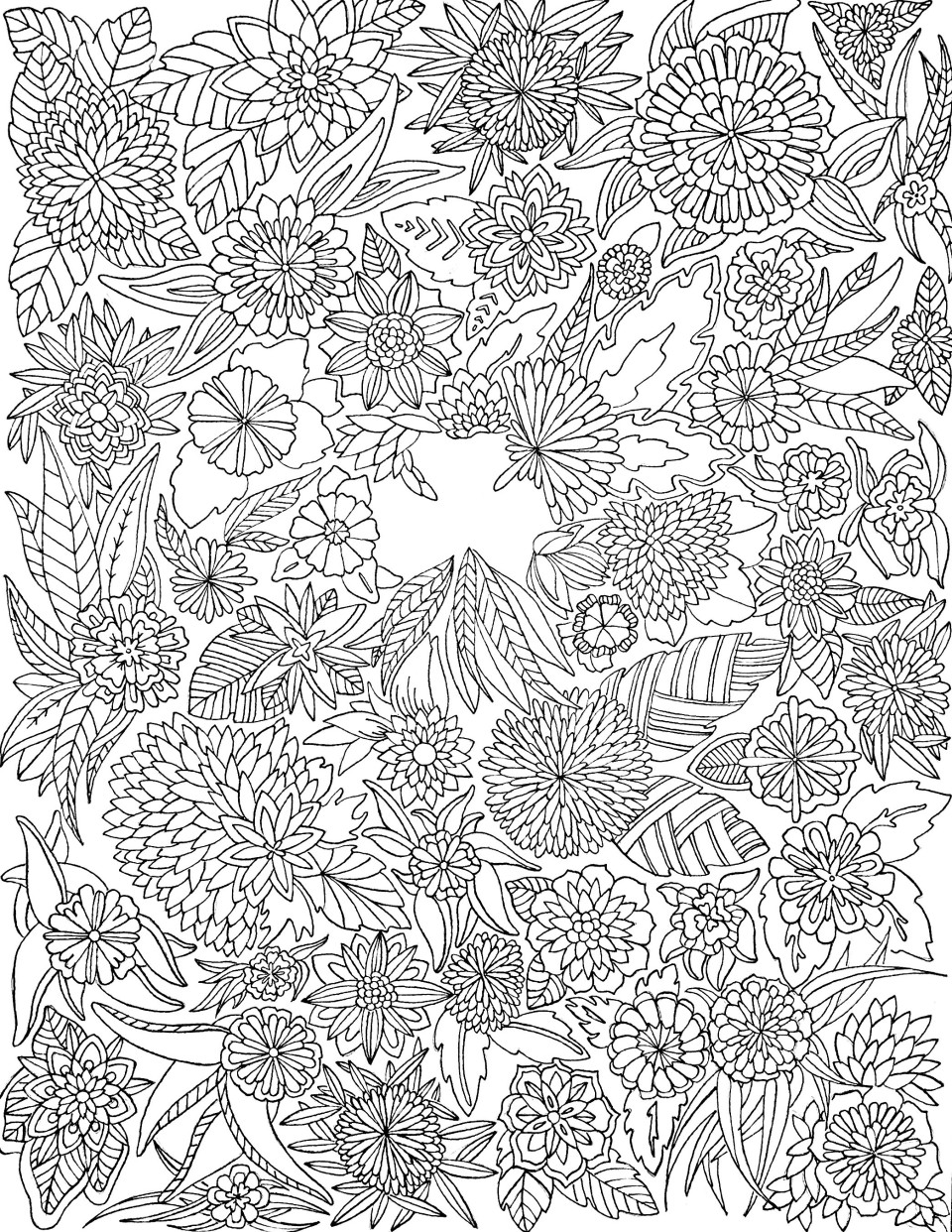 March coloring - Twineandtable