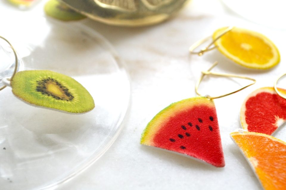 watermelon wine charm - twineandtable
